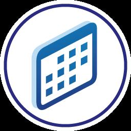 Symbole calendrier