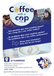 Coffee with a cop - Le Flamingo 2021